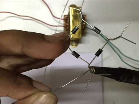 How to make AC to DC Rectifier