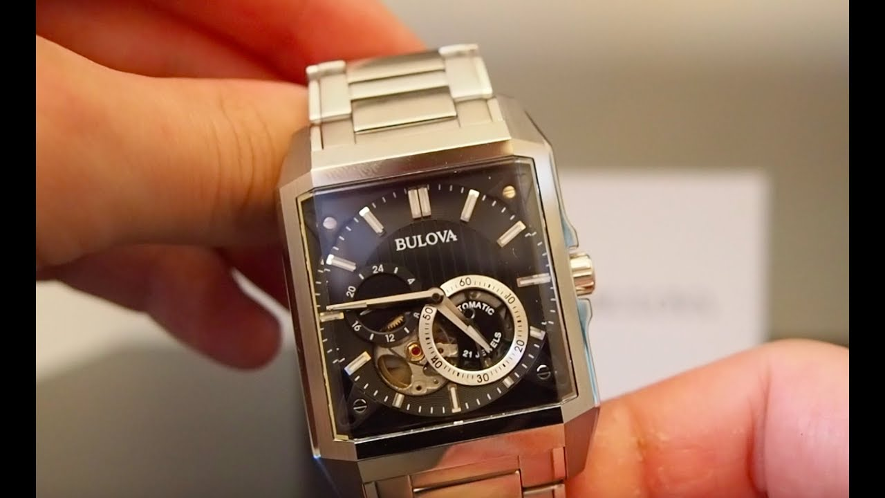 31ecd7a02 Bulova 96A194 Automatic Watch Review - WatchReviewBlog