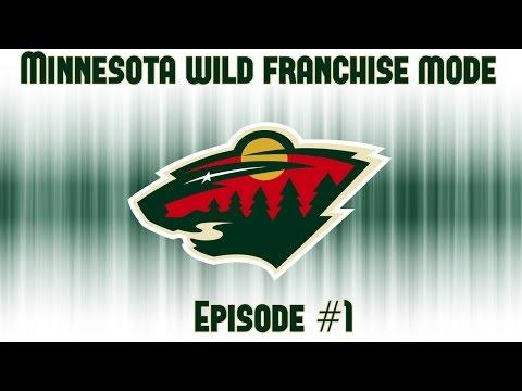In Office   Minnesota Wild Franchise Mode #1   NHL 17