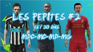 Carriere FIFA 16 #EP 2 : Les pépites ( MDC, MC, MD, MG, MOC )