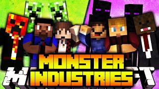 Minecraft 3v3 MONSTER INDUSTRIES #1 with The Pack
