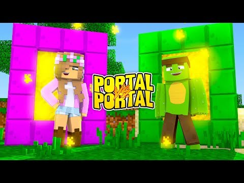 GIRL PORTAL VS BOY PORTAL (TinyTurtle vs Little Kelly Portals)