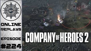 Company of Heroes 2 Online Replays #224 - Blobs Fighting Blobs
