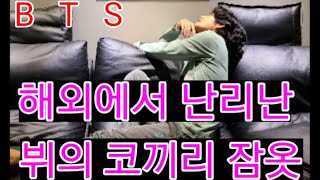 """[BTS] 방탄소년단   해외에서 난리난 """"뷔의 코끼리 잠옷""""  (BTS V's pajamas sold ou…"""