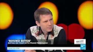 Alex Kapranos Interview for France 24 - 27.03.2015