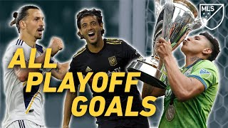 Every 2019 Playoff Goal! Vela, Zlatan, Ruidiaz and More Unforgettable Moments