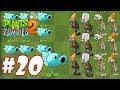 Hoa quả nổi giận 2 - Plants Vs Zombies 2 : Snow Pea, Electric Currant vs Mecha-Football Zombie #20