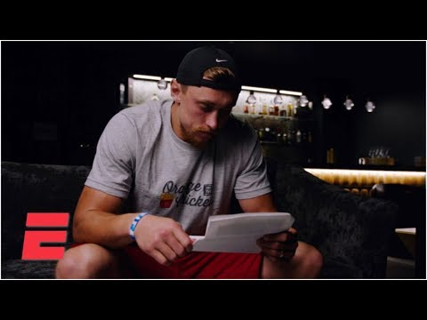 49ers' George Kittle reads a heartfelt letter from his father before every game | NFL Countdown