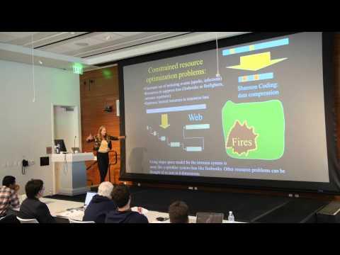 Session 1: Jean Carlson, PhD