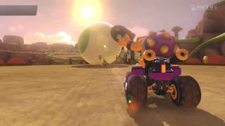 How to get overtaken in Mario Kart 8 right before the finish...