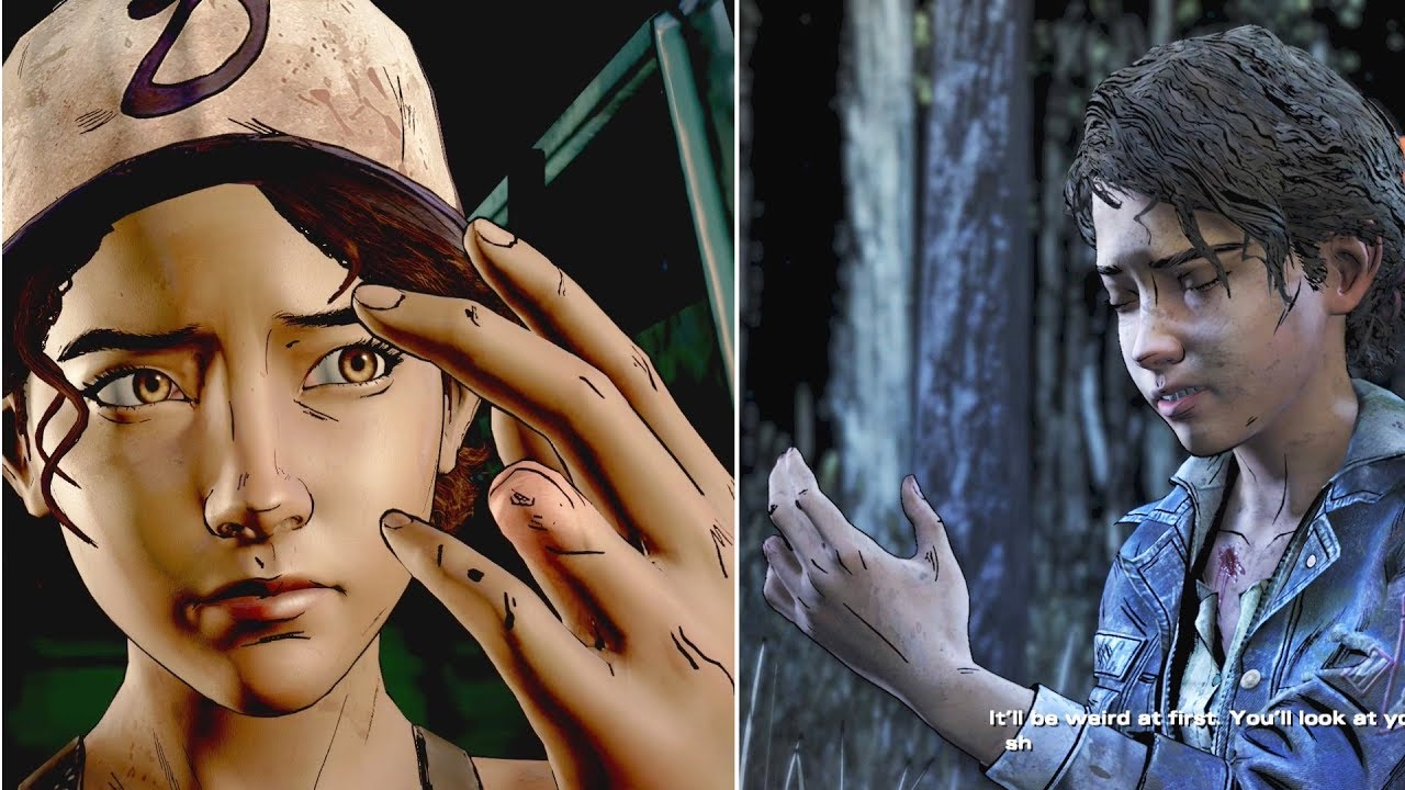 Clem Explains How She Lost Her Finger What Does It Feel The Walking Dead Season 4