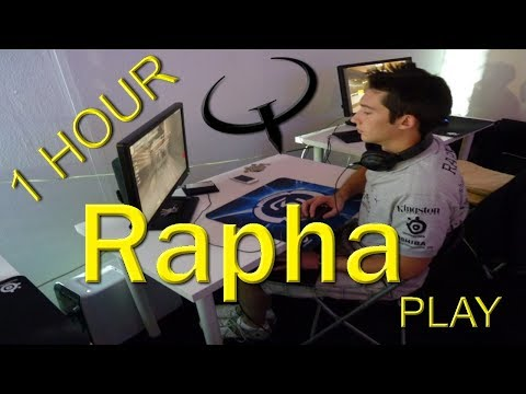 Rapha playing Quake Champions beta duels