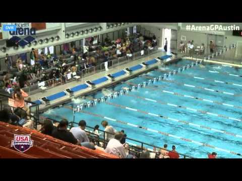 Men's 200 Meter Freestyle Prelims 2014 Arena Grand Prix At Austin