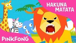 Hakuna Matata | Animales | Pinkfong Canciones Infantiles
