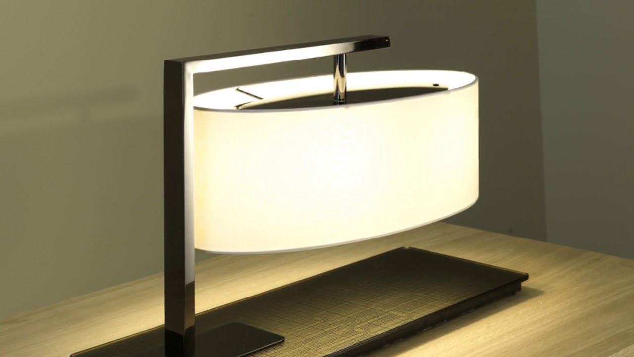 Contemporary Desk Lamps Office Lighting - YouTube