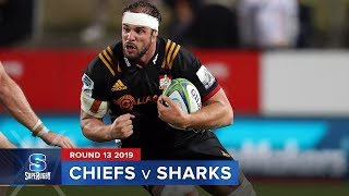 Chiefs v Sharks | Super Rugby 2019 Rd 13 Highlights