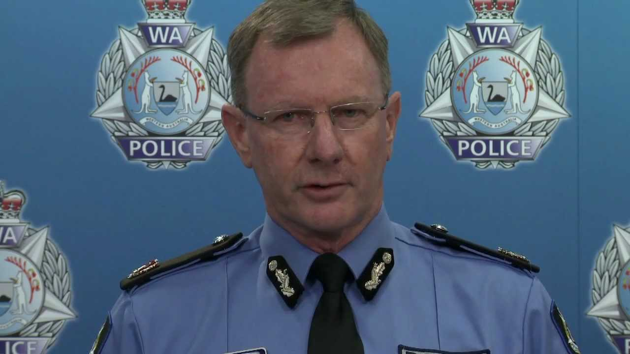 Assistant Commissioner Gary Budge, WA Police ...
