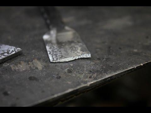Как осуществить ковку ножа своими руками? (видео)