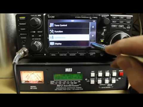 Icom IC-7300 Tips and Tricks - Common Problems and Saving / Reloading Settings