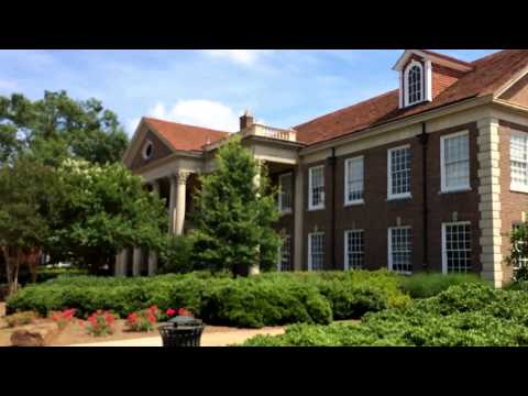 University of Mississippi  - a campus tour - June 2014