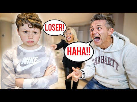 Having My PARENTS Be Mean To My Little Brother! *PRANK*