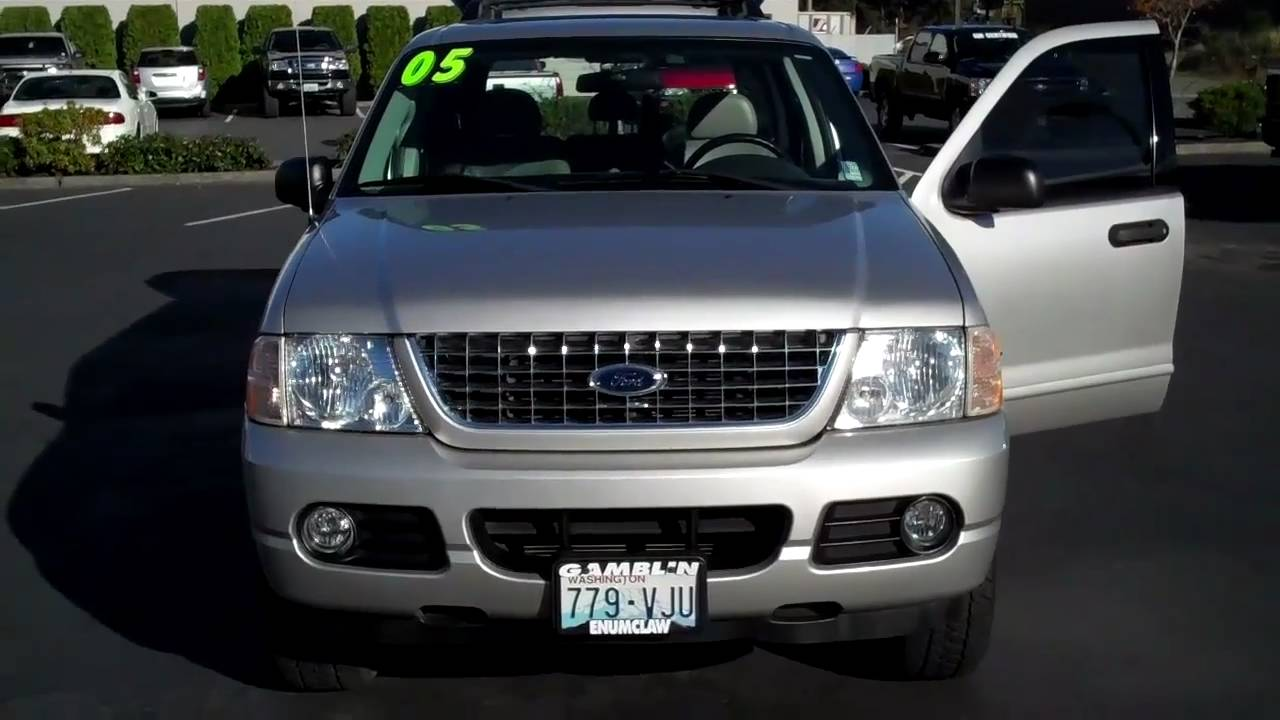 2005 ford explorer xlt silver 4wd art gamblin motors tim smitty smith v1903a youtube