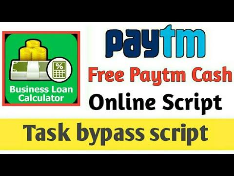 online script} Paytm earn application !! Business loan calculator
