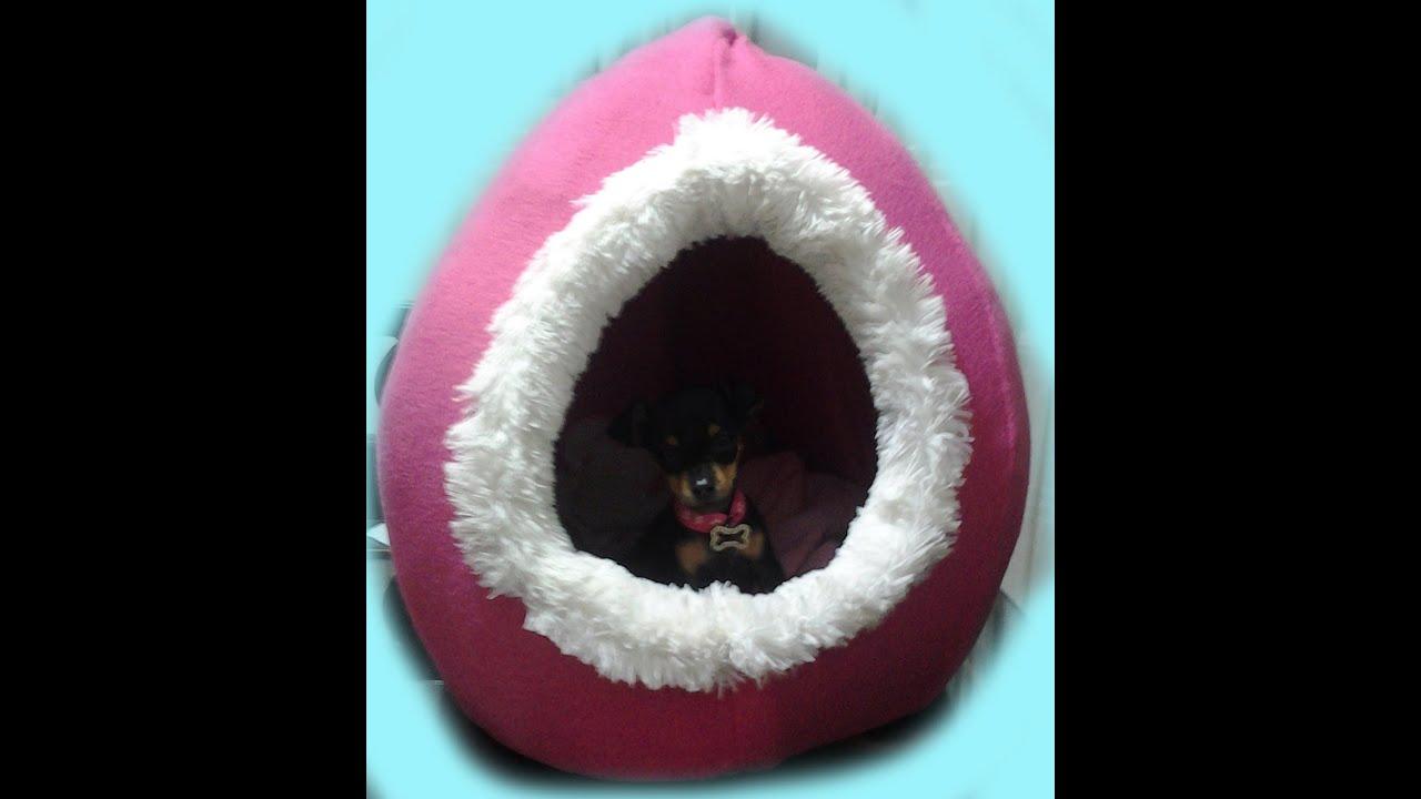 Como hacer una cama para perro o gato youtube - Como hacer una cama para perro ...