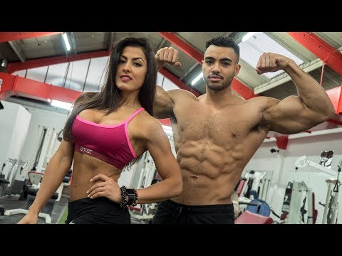 Couple Workout Motivation - Cristina Silva & Justin St Paul