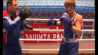 Southpaw Boxing Padwork, Russian Style