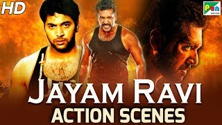 Jayam Ravi - Back To Back Action Scenes | Gunda Raaj Mitadenge | Hindi Dubbed Movie