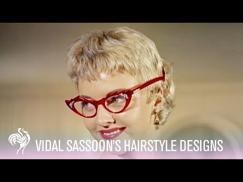 Vidal Sasson's Hairstyle Designs! (1955) | Vintage Fashion