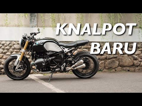 GANTI KNALPOT BMW R NINE T -IXIL Exhaust #motovlog 271