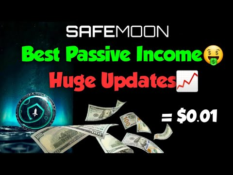 SAFEMOON Investment BEST Form of PASSIVE INCOME in CRYPTO! Safemoon Updates! 0.01 Prediction -1 cent