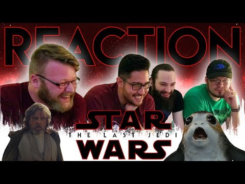 Thumbnail: Star Wars: The Last Jedi Official Trailer REACTION!! #TLJReaction