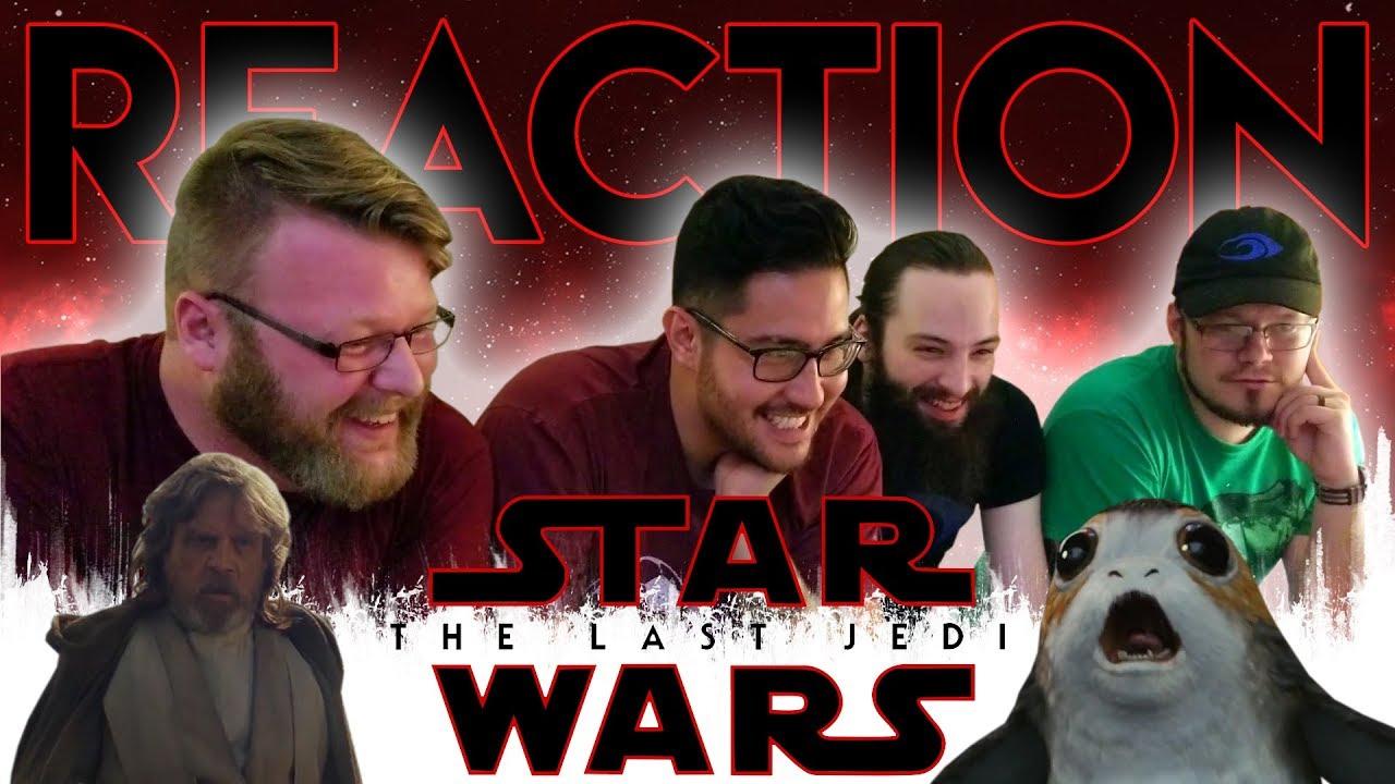 Download Star Wars: The Last Jedi Official Trailer REACTION!! #TLJReaction