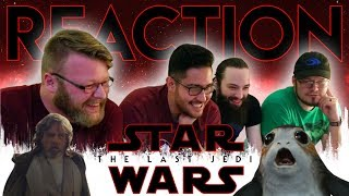 Star Wars: The Last Jedi Official Trailer REACTION!! #TLJReaction