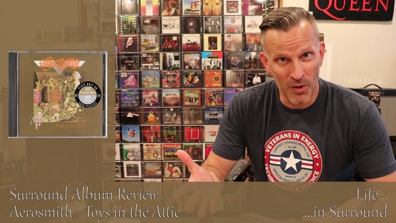 Aerosmith Toys In The Attic Surround Album Review