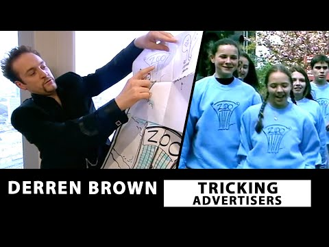 Derren Brown Tricks Advertisers With Subliminal Messaging