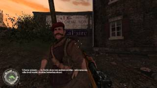 Call of Duty 2 CZGP aneb Bitva o Caen,zajatci,křižovatka