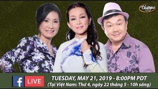 Livestream với Hồng Đào, Hương Thủy, Chí Tài - May 21, 2019