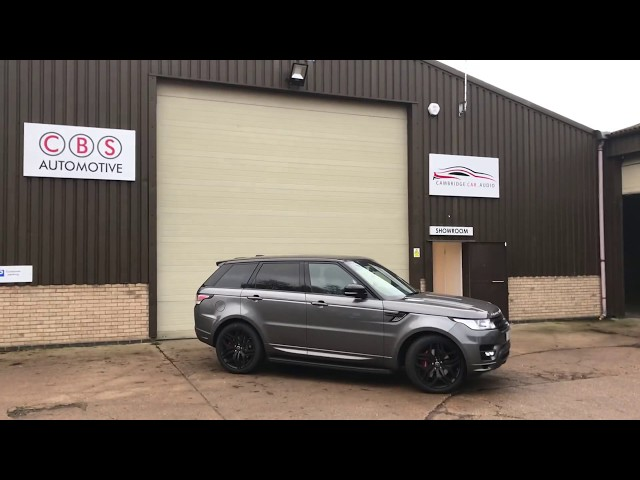 Range Rover Sport Detachable Towbar | CBS Automotive