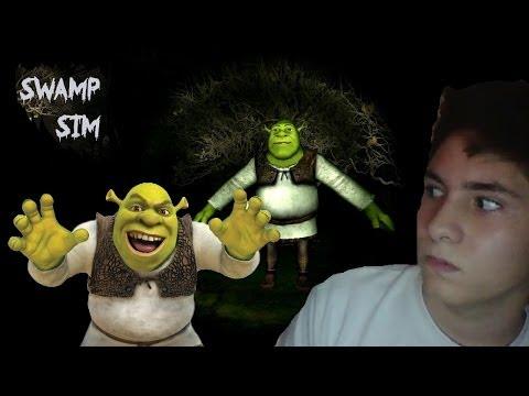 Swamp Sim | GAMEPLAY | SHREK AHORA ES UN ASESINO!!