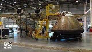 How the Smithsonian moves space history