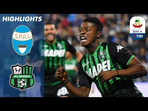 SPAL 0-2 Sassuolo |  Sassuolo Need Two Second-Half Goals To Defeat SPAL  | Serie A