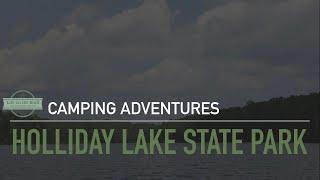 Camping at Holliday Lake State Park, VA