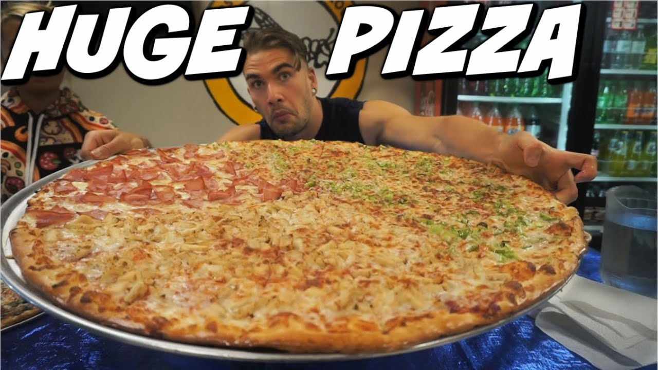 """TEXAS SIZED PIZZA CHALLENGE 