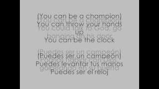 THE SCRIPT ft. WILL.I.AM - HALL OF FAME lyrics english and spanish