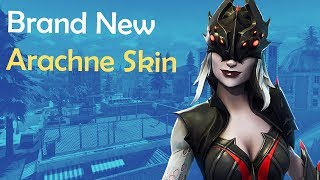 *NEW* Arachne Skin! Solos Fortnite Battle Royale