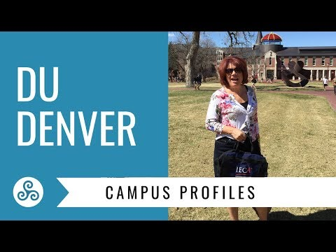University of Denver - DU - overview by American College Strategies after a campus tour